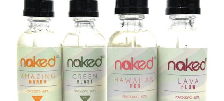 naked 100 organic ejuice