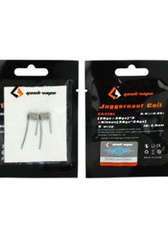 2pcs GeekVape SS316L Juggernaut Coil