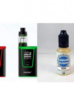 Smok G150 Kit + Liquid Cloud E-Juice